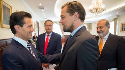 El gobierno de México, Leonardo DiCaprio y Carlos Slim diseñan un plan p...