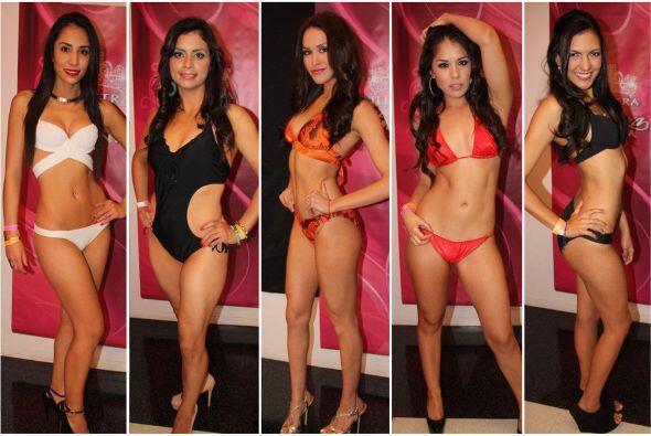 Bárbara (centro) es la única representante que queda de Texas, pues las...