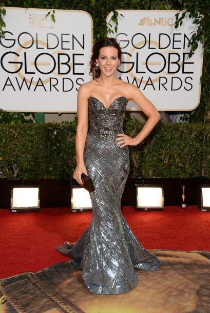 Como toda una reina se presentó Kate Beckinsale, gracias a la creación m...