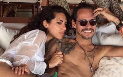 Marc Anthony y su nueva novia raffaela