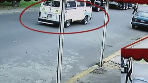 Salen a la luz nuevas imágenes de la furgoneta a la que subió la niña me...