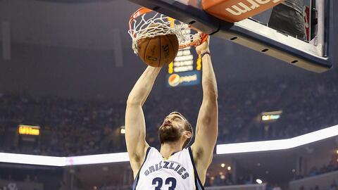 Marc Gasol de los Memphis Grizzlies