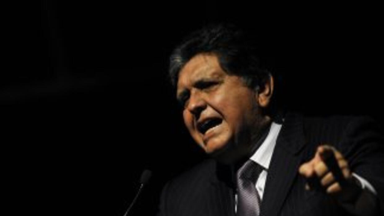 El expresidente de Perú,Alan García.