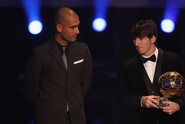El 2010 marcaría la carrera del argentino con su segundo Balón de Oro, e...