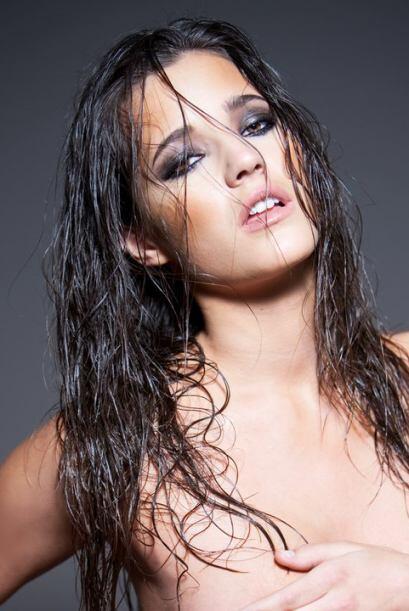 La modelo española Malena Costa, novia del jugador de los Colchoneros Ma...