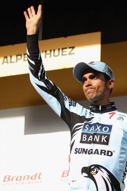 Alberto Contador concretó una increíble escapada, pero no fue suficiente...