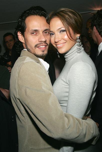 Marc Anthony y Jennifer Lopez Apenas llevaban saliendo un par de meses c...