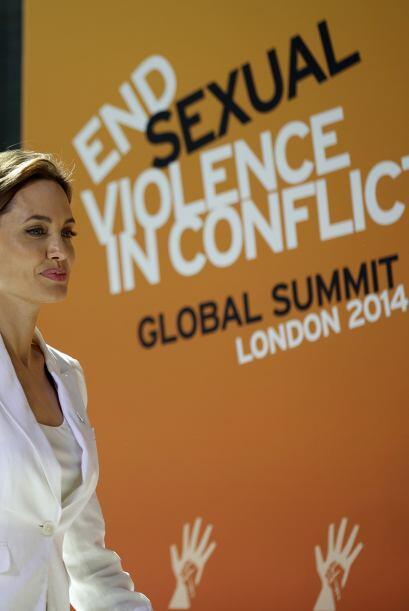 Participó como enviada especial de las Naciones Unidas.  Aquí los videos...