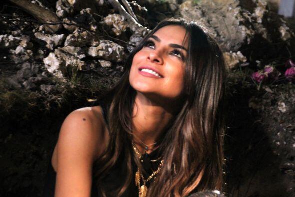 Alejandra Espinoza quiso sentir la adrenalina de las chicas, por lo que...