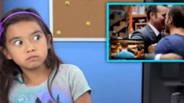 Niños reaccionan ante el matrimonio gay. Fotografía tomada del video de...