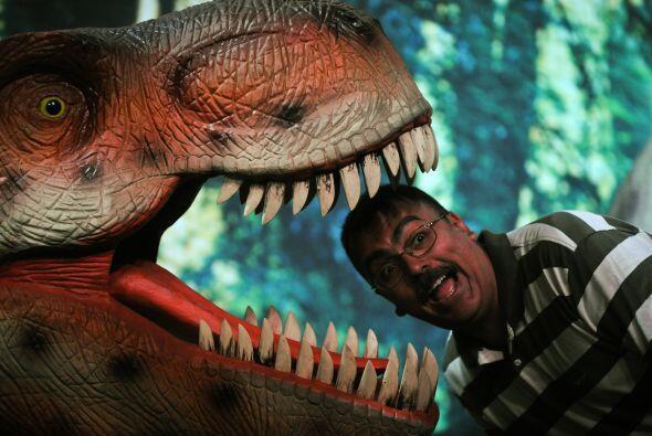 La más grande exposición de dinosaurios animatrónic...