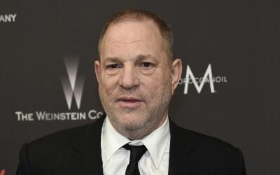 El productor Harvey Weinstein en enero de 2017, a su llegada a una fiest...