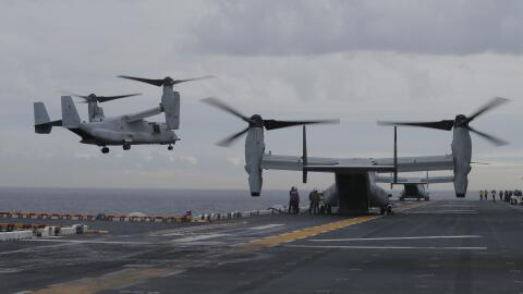 Un ejercicio militar conjunto entre los Estados Unidos y Australia. En l...