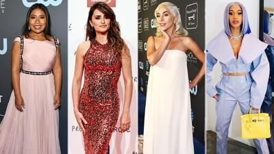 Los pequeños detalles que no convencieron de los looks de Yalitza, Penélope, Lady Gaga y Cardi B