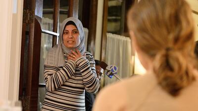 Inmigrantes sirios aceptados en Estados Unidos