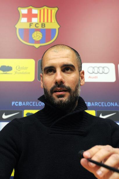 'Pep' Guardiola está considerado entre los mejores 3 técni...