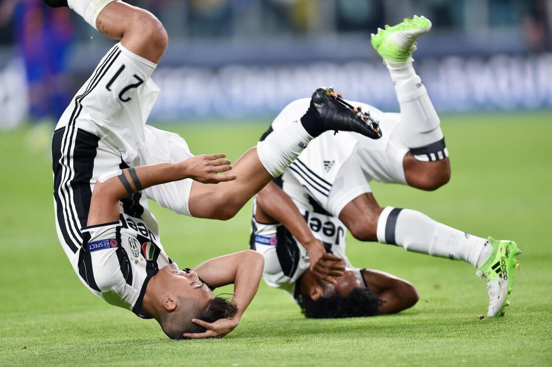 Juventus hizo fiesta contra Barcelona en la Champions League 63627544348...