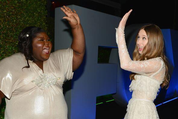 "Gabby Sidibe y Taissa Farmiga de ""American Horror Story: Coven"", se dan..."