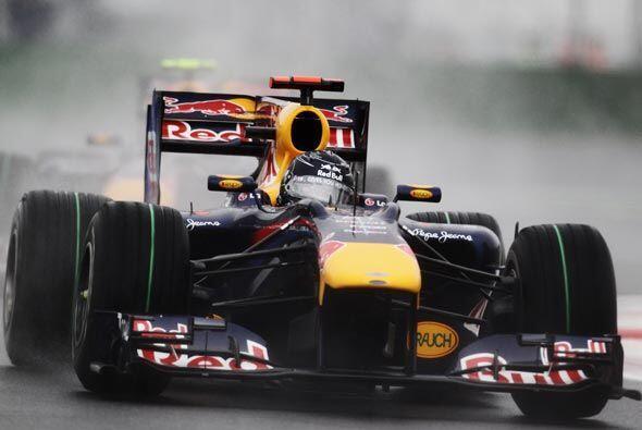 El australiano Mark Webber parecía encaminado a una victoria para reforz...
