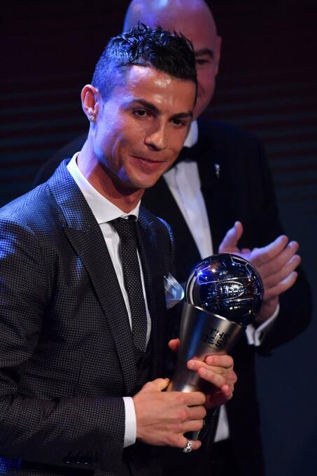 Premio The Best al Mejor Futbolista (2017): Cristiano Ronaldo (Real Madr...