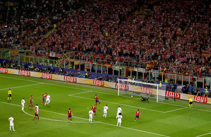 La final del Champions Legaue en 2018 tendrá a Kiev como sede.