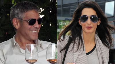 George Clooney y Amal Alamuddin podrían llegar al altar en otoño