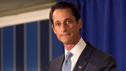 Anthony Weiner se declara culpable por transferir material obsceno a una...