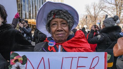 Protesta mujeres sábado Nueva York