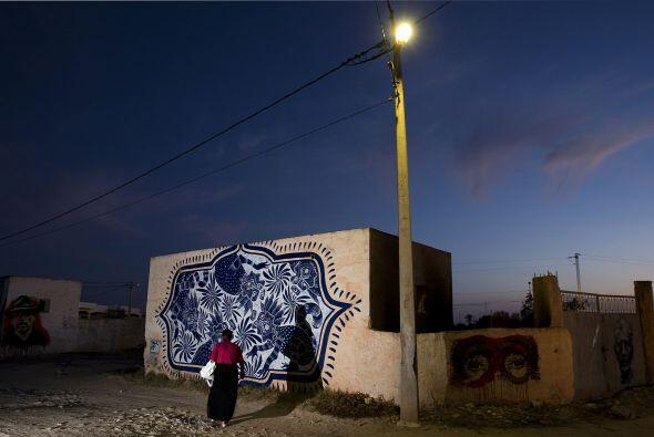 Una gran forma de admirar el arte urbano.
