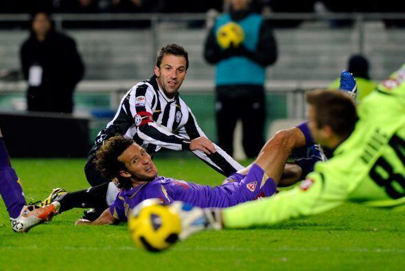 Del Piero mostró toda su calidad y estuvo cerca de marcar un tanto.