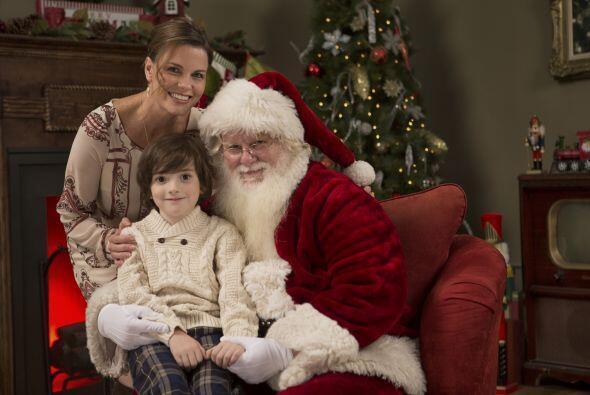 """No le inculques miedo. Si le dices cosas como """"Santa no te va a lastimar..."""