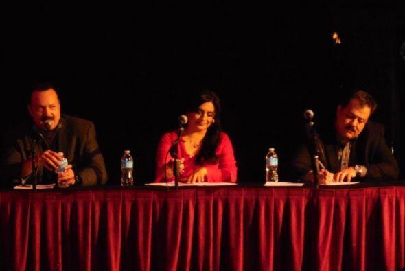 Jurado de honor: Pepe Aguilar, Angeles Ochoa y Fernando de Santiago