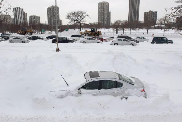 La octava tormenta invernal de la temporada que esta semana azotó a un t...