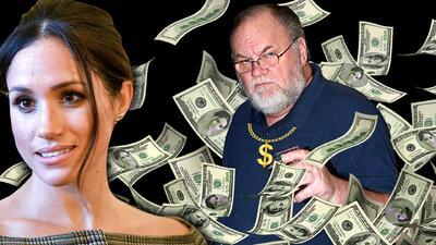 Nueva traición del papá de Meghan Markle: cobra por divulgar sus supuestos secretos