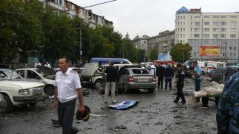 un triciclo bomba activado el pasado primero de febrero causó 11 muertos...