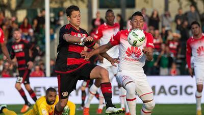 Bayer Leverkusen y 'Chicharito' jugó la Florida Cup en 2016.