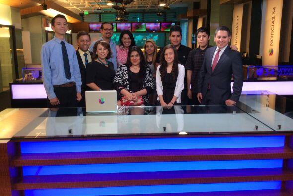 Univision unió esfuerzos con la organización Junior Achiev...
