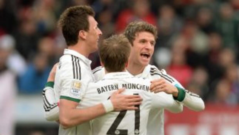 Bayern sigue embalado hacia el título.