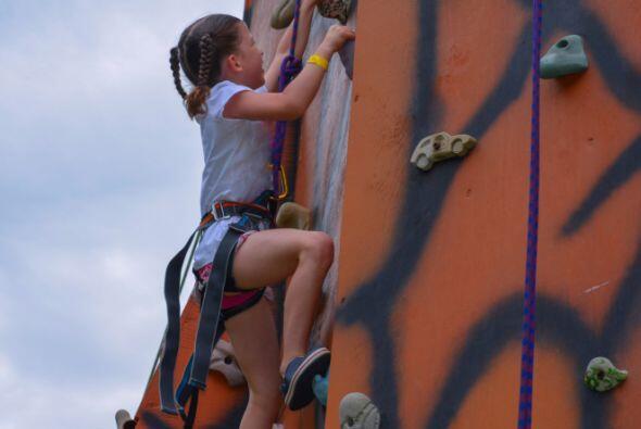 Determinación: Niños y jóvenes a diario se lanzan a situaciones desconoc...