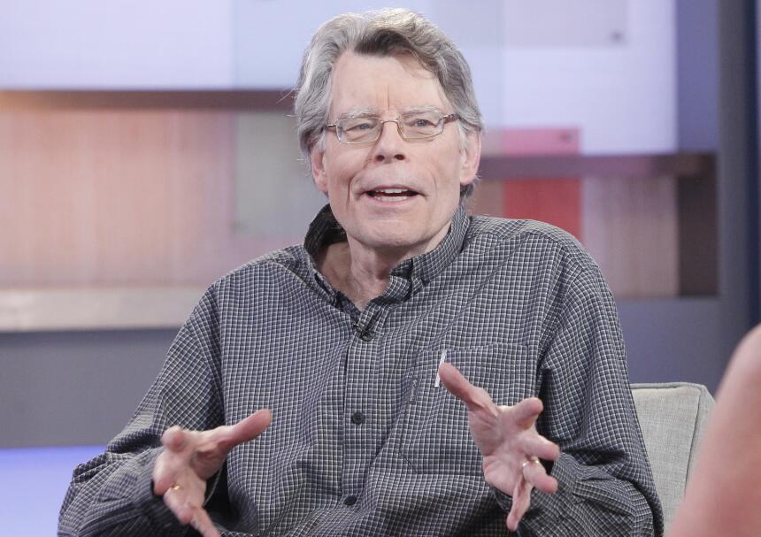 Stephen King, de 68 años, ha vendido más de 300 millones de copias en su...