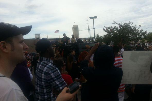 Protestas en Houston por Trayvon Martin