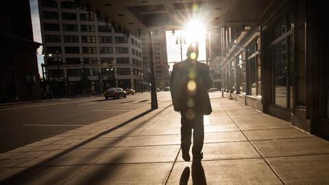 El panorama en las calles de Detroit ha mejorado, pero todavía sus índic...