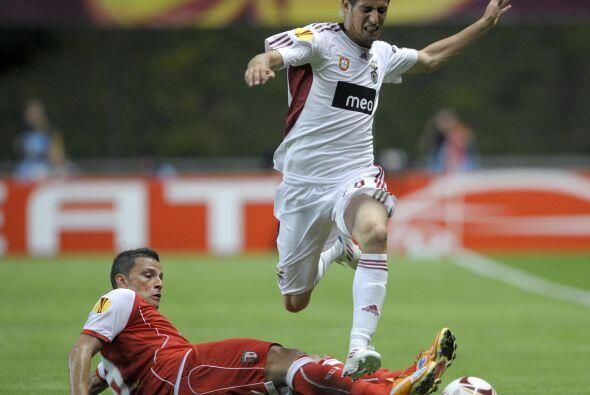 En la otra Semifinal, el Braga esperaba sacar provecho de jugar en casa...