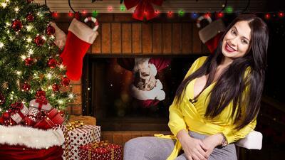 Carla Medrano nunca creyó en Santa Claus, pero quiere que sus hijos sí lo hagan