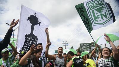 Euforia colectiva vive Medellín por final de Copa Libertadores