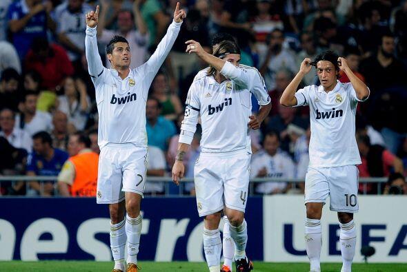 Cristiano Ronaldo marcó el segundo y sigue siendo el líder en la tabla d...