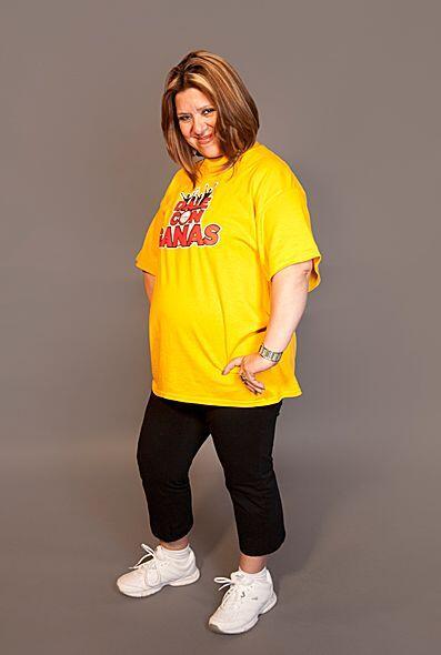 Ella atribuye su sobrepeso a sus hábitos alimenticios y la poca activida...