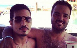 Serafín Zambada (izquierda) con su hermano mayor Ismael Zambada I...