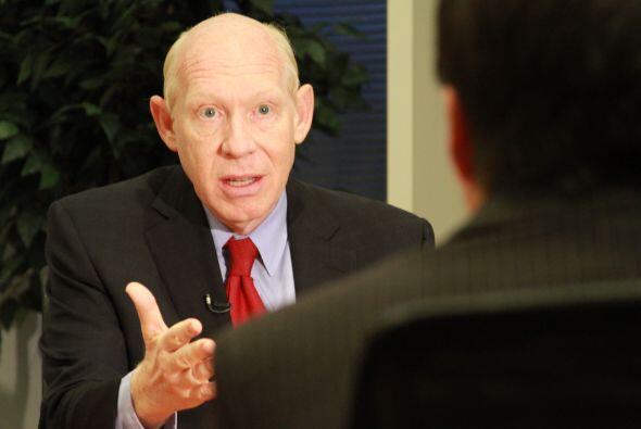 Perry se ha negado a debatir con White alegando que no lo hará hasta que...