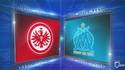 Frankfurt 4-0 Marsella - GOLES Y RESUMEN - Grupo H - UEFA Europa League